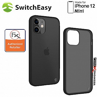 "Switcheasy Aero for iPhone 12 Mini 5G 5.4""- Transparent Black ( Barcode : 4897094567573 )"