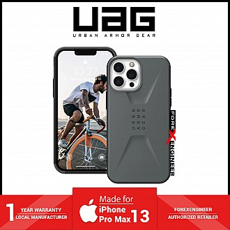 """UAG Civilian for iPhone 13 Pro Max 5G 6.7"""" - Silver  (Barcode: 810070363970 )"""