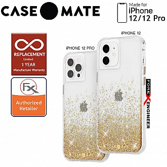"""Case Mate Twinkle Ombré with MicroPel for iPhone 12 / 12 Pro 5G 6.1"""" -  Gold (Barcode : 846127198042 )"""