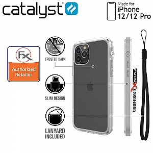 """Catalyst Influence for  iPhone 12 / 12 Pro 5G 6.1"""" - Clear (Barcode : 840625106783 )"""
