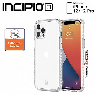 """Incipio Grip for iPhone 12 / 12 Pro 5G 6.1"""" -  Clear/Clear (Barcode : 191058117861 )"""