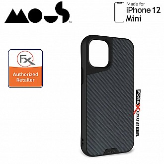 """Mous Limitless 3.0 for iPhone 12 Mini 5G 5.4"""" - Air Shock High Impact Material Case -  Aramid Carbon Fibre (Barcode : 5060624483813 )"""
