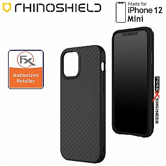 """Rhinoshield Solidsuit for iPhone 12 Mini 5G 5.4"""" - Carbon Fibre ( Barcode : 4710562419757 )"""