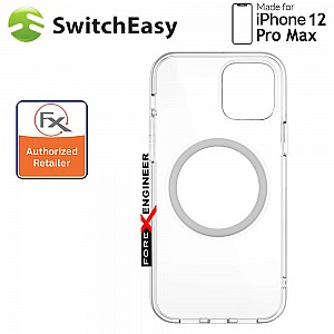 """SwitchEasy MagEasy for iPhone 12 Pro Max 5G 6.7"""" - Silver  (Barcode : 4897094568914 )"""