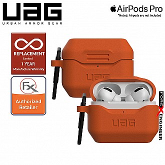 UAG Standard Issue Silicone_001 for Airpods Pro - Orange color ( Barcode : 812451035421 )
