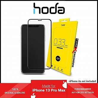 """Hoda Tempered Glass for iPhone 13 Pro Max 6.7"""" 5G ( 2.5D 0.33mm Full Coverage ) - Clear (Barcode: 4711103541661 )"""