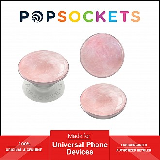 PopSockets Swappable Luxe - Genuine Rose Quartz (Barcode: 842978158587 )