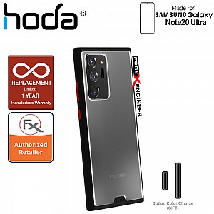 Hoda Rough Military Case for Samsung Galaxy Note 20 Ultra - Military Drop Protection ( Black ) ( Barcode: 4713381517826 )