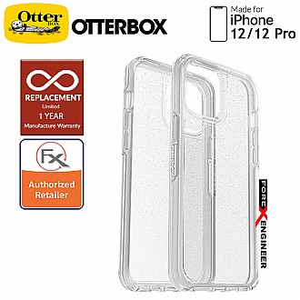 """Otterbox Symmetry Clear for iPhone 12 / 12 Pro 5G 6.1"""" - Stardust  (Barcode : 840104215906 )"""