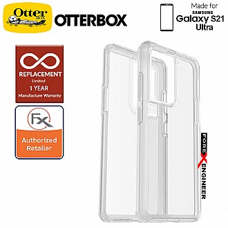 OtterBox Symmetry Clear for  Samsung Galaxy S21 Ultra 5G -  Clear (Barcode : 840104245293 )