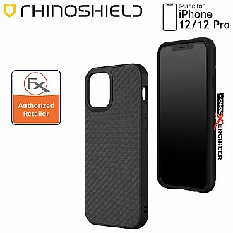"""Rhinoshield Solidsuit for iPhone 12 / 12 Pro 5G 6.1"""" - Carbon Fibre ( Barcode : 4711033720488 )"""