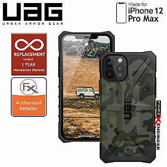 """UAG Pathfinder SE for iPhone 12 Pro Max 5G 6.7"""" - Forest Camo (Barcode : 812451037289)"""