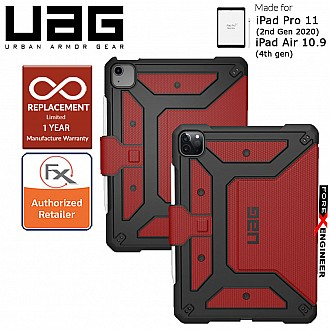 "UAG Metropolis for iPad Air 10.9"" (4th Gen) / iPad Pro 11 (2nd Gen 2020) - Magma (Barcode : 812451038095 )"