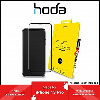 """Hoda Tempered Glass for iPhone 13 / 13 Pro 6.1"""" 5G ( 2.5D 0.33mm Full Coverage ) - Clear (Barcode: 4711103541654 )"""