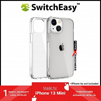 """SwitchEasy Crush for iPhone 13 Mini 5.4"""" 5G - AirBarrier Shockproof - Clear (Barcode: 4895241101564 )"""