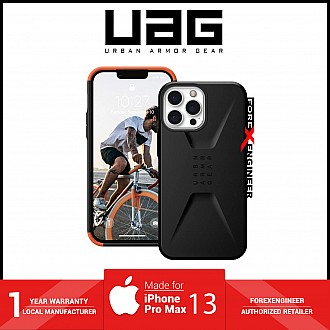 """UAG Civilian for iPhone 13 Pro Max 5G 6.7"""" - Black  (Barcode: 810070363987 )"""