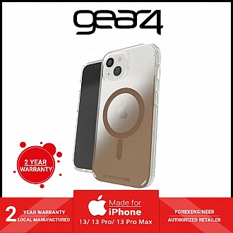 """Gear4 Milan Snap for iPhone 13 6.1"""" 5G - MagSafe Compatible - Gold (Barcode: 840056146723 )"""