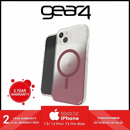 """Gear4 Milan Snap for iPhone 13 Pro Max 6.7"""" 5G - MagSafe Compatible - Rose Gold (Barcode: 840056146754 )"""