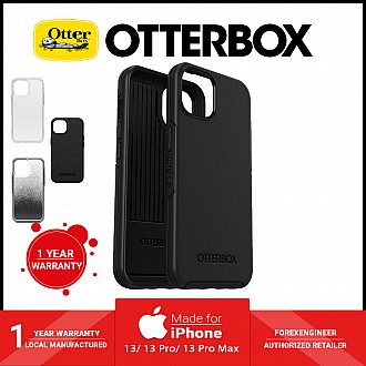 """Otterbox Symmetry for iPhone 13 6.1"""" 5G - Antimicrobial Case - Black (Barcode: 840104284803 )"""