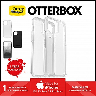 """Otterbox Symmetry Clear for iPhone 13 6.1"""" 5G - Antimicrobial Case - Clear (Barcode: 840104284445 )"""