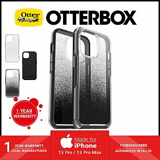 """Otterbox Symmetry Clear for iPhone 13 Pro Max 6.7"""" 5G - Antimicrobial Case - Ombre Spray (Barcode: 840104265475 )"""