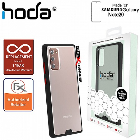 Hoda Rough Military Case for Samsung Galaxy Note 20 - Military Drop Protection ( Black ) ( Barcode: 4713381517864 )