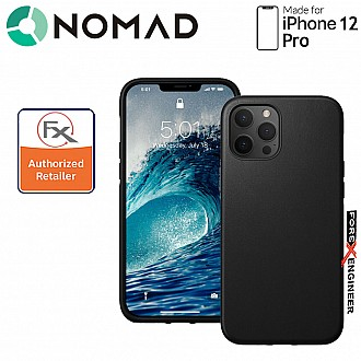 """Nomad Rugged Case for iPhone 12 / 12 Pro 6.1"""" ( Black ) ( Barcode : 856500019208 )"""
