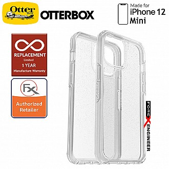 """Otterbox Symmetry Clear for iPhone 12 Mini 5G 5.4"""" - Stardust  (Barcode : 840104215371 )"""