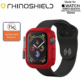 Rhinoshield CrashGuard NX- Apple Watch 40mm (Series 4/5/6/SE) | Red ( Barcode : 4710227238754 ) (ETA:05 Feb 2021)