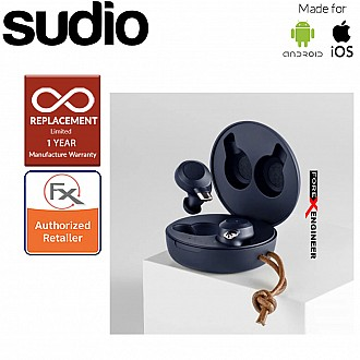Sudio Fem IPX5 True Wireless Earbuds with 4 Environmental Noise-Canceling Microphones ( Classic Blue ) ( Barcode : 7350071383407 )