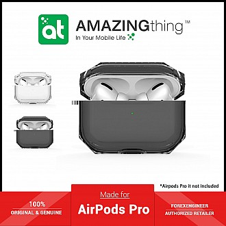 AmazingThing Outre Drop Proof for AirPods Pro - Black (Barcode: 4892220389210 )