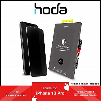 """Hoda Tempered Glass for iPhone 13 / 13 Pro 6.1"""" 5G ( 2.5D 0.33mm Full Coverage ) - Anti-Peeper (Barcode: 4711103541685 )"""