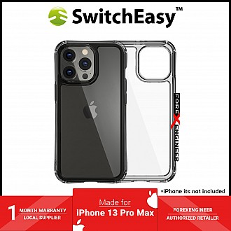 """SwitchEasy Alos for iPhone 13 Pro Max 6.1"""" 5G - Anti-Microbial Shockproof - Clear (Barcode: 4895241101557)"""