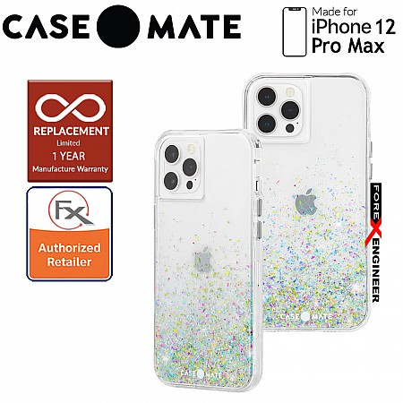 """Case Mate Twinkle Ombré with MicroPel for iPhone 12 Pro Max 5G 6.7"""" -  Confetti (Barcode : 846127197045 )_[RACK CLEARANCE]"""