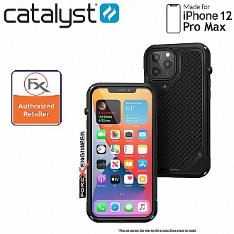 """Catalyst Vibe for iPhone 12 Pro Max 5G 6.7"""" - Stealth Black (Barcode : 840625106691 )"""