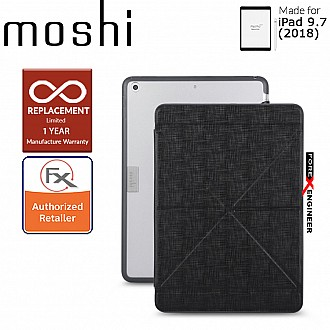Moshi VersaCover with Folding Cover for iPad 9.7 inch (2017 5th Gen & 2018 6th Gen) - Black Color ( Barcode : 4713057251962 )