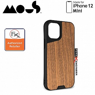 """Mous Limitless 3.0 for iPhone 12 Mini 5G 5.4"""" - Air Shock High Impact Material Case -  Walnut (Barcode : 5060624483820 )"""