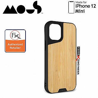 """Mous Limitless 3.0 for iPhone 12 Mini 5G 5.4"""" - Air Shock High Impact Material Case -  Bamboo (Barcode : 5060624483837 )"""