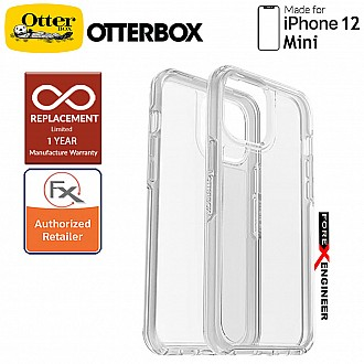 """Otterbox Symmetry Clear for iPhone 12 Mini 5G 5.4"""" - Clear  (Barcode : 840104215364 )"""