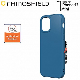 """Rhinoshield Solidsuit for iPhone 12 Mini 5G 5.4"""" - Classic Royal Blue ( Barcode : 4710562419825 )"""