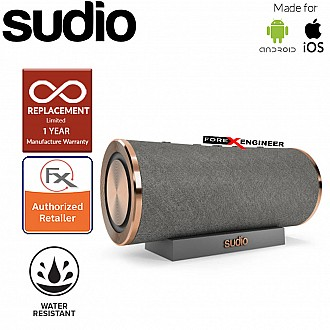 Sudio FEMTIO Bluetooth Speaker with IPX 6 Level ( Waterproof ) ( Antracite / Copper ) ( Barcode : 7350071382264 )