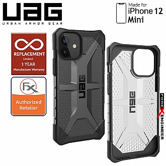 "UAG Plasma for iPhone 12 Mini 5G 5.4"" - Ash ( Barcode : 812451036008 )"
