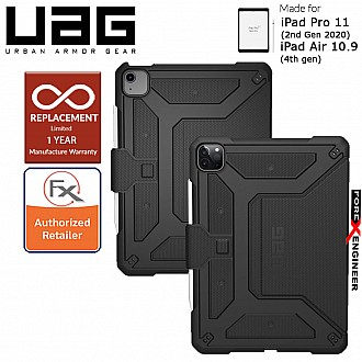 "UAG Metropolis for iPad Air 10.9"" (4th Gen) / iPad Pro 11 (2nd Gen 2020) - Black (Barcode : 812451037869 )"
