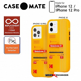 """Case Mate KODAK for iPhone 12 / 12 Pro 5G 6.1"""" - Vintage Yellow (Barcode: 840171700428)"""