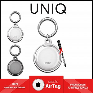 UNIQ Glase Case for AirTag - Clear Protective Case in True Clarity - Clear (Barcode: 8886463677445 )