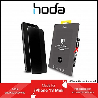 """Hoda Tempered Glass for iPhone 13 Mini 5.4"""" 5G ( 2.5D 0.33mm Full Coverage ) - Anti-Peeper (Barcode: 4711103541678 )"""