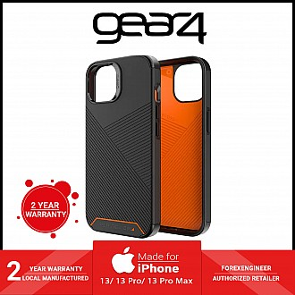 """Gear 4 Denali Snap for iPhone 13 6.1"""" 5G - MagSafe Compatible - Black (Barcode: 840056146686 )"""