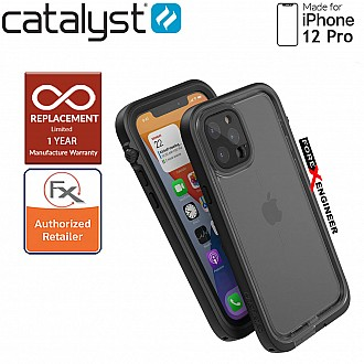 Catalyst Waterproof Case for iPhone 12 Pro (not compatible with iPhone 12) - Stealth Black (Barcode: 840625111138 )
