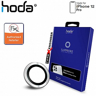 Hoda Sapphire Lens Protector for iPhone 12 Pro - 3 pcs - Silver (Barcode : 4713381519677 )