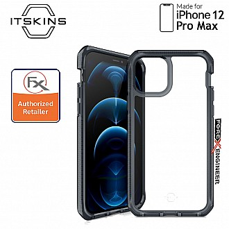"""ITSkins Supreme Clear for iPhone 12 Pro Max 5G 6.7"""" -  Smoke/Clear (Barcode: 4894465844042 )"""